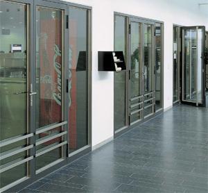 porte coupe feu metallique vitre